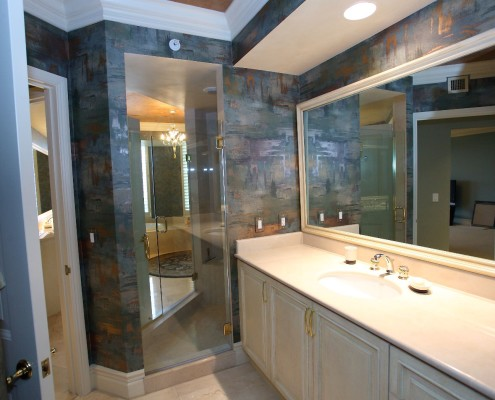interior design master bath - with vanity - before